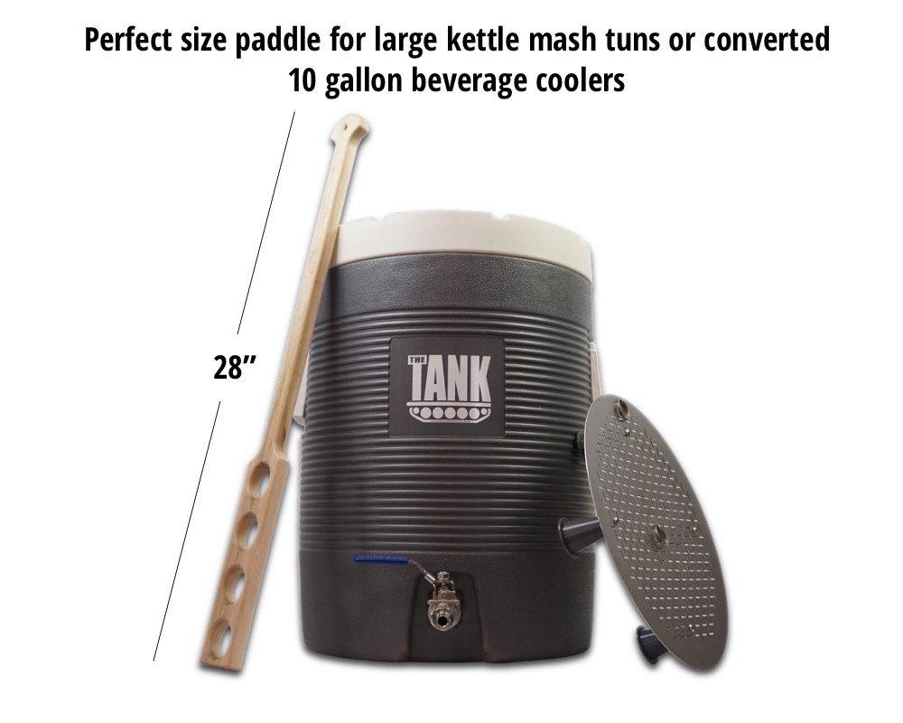 Coldbreak Brewing Equipment CBMP Hard Maple Mash Paddle