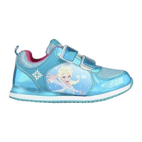 Cerdá Deportiva Luces Frozen Elsa, Zapatillas para Niñas: Amazon.es: Zapatos y complementos