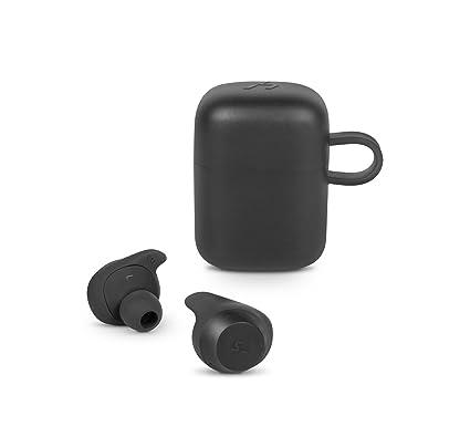 SPC Heron - Auriculares Bluetooth (manos libres, asistente de voz, carga inalámbrica,