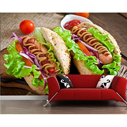 Amazoncom Xbwy Fast Food Hot Dog Vegetables Tomatoes Food