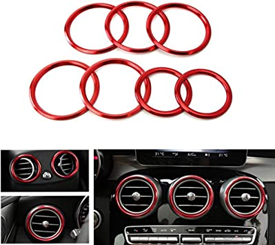 Inner Front Air Condition Vent Cover Trim For Mercedes Benz GLC Class 2015-2019