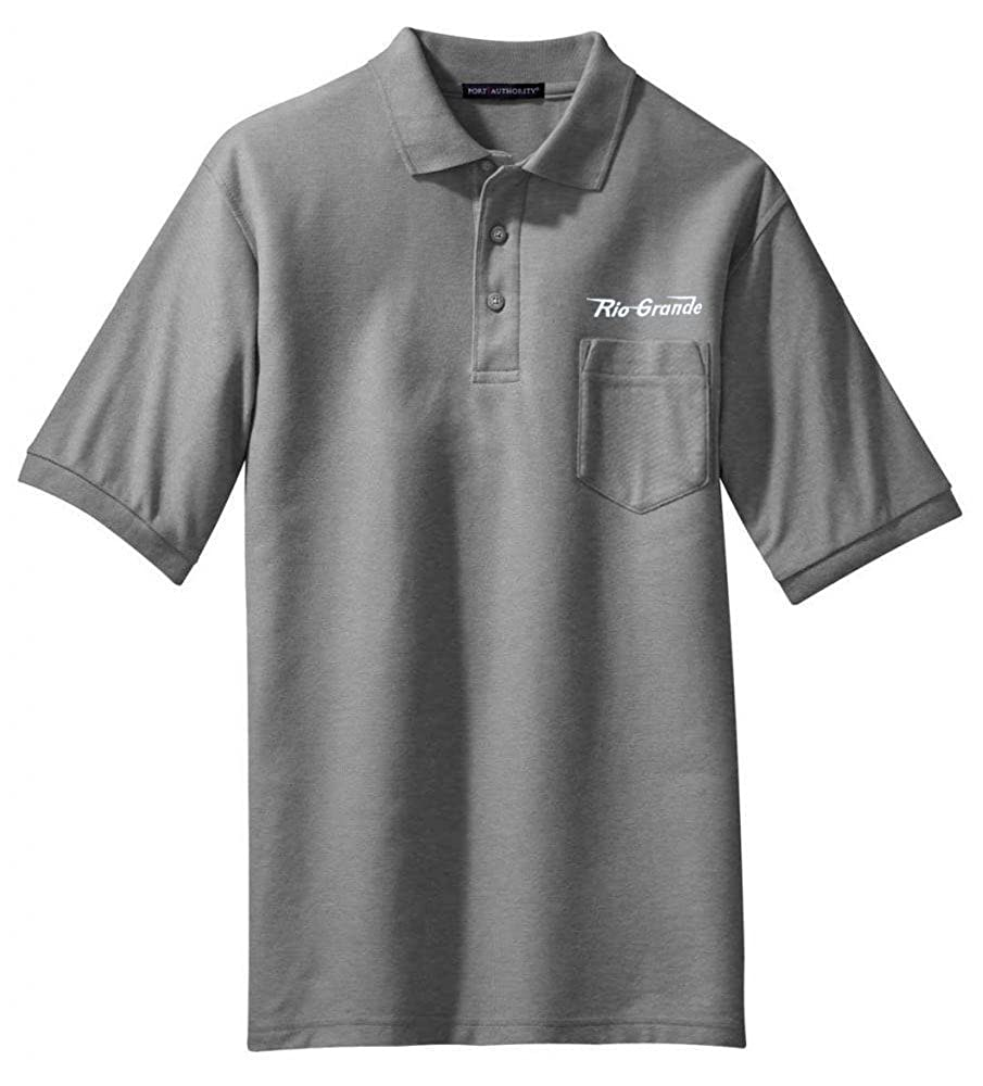 11 Rio Grande Speed Lettering Embroidered Polo