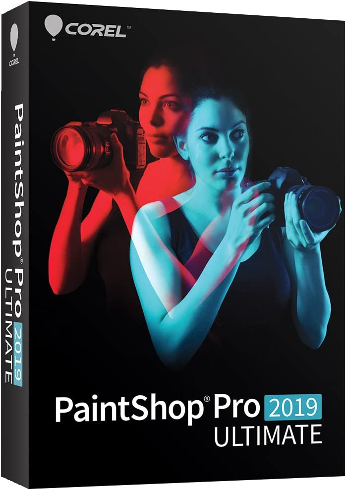 PaintShop Pro 2019 Ultimate - Photo Editing and Bonus Collection - Amazon Exclusive [PC Disc] [Old Version]