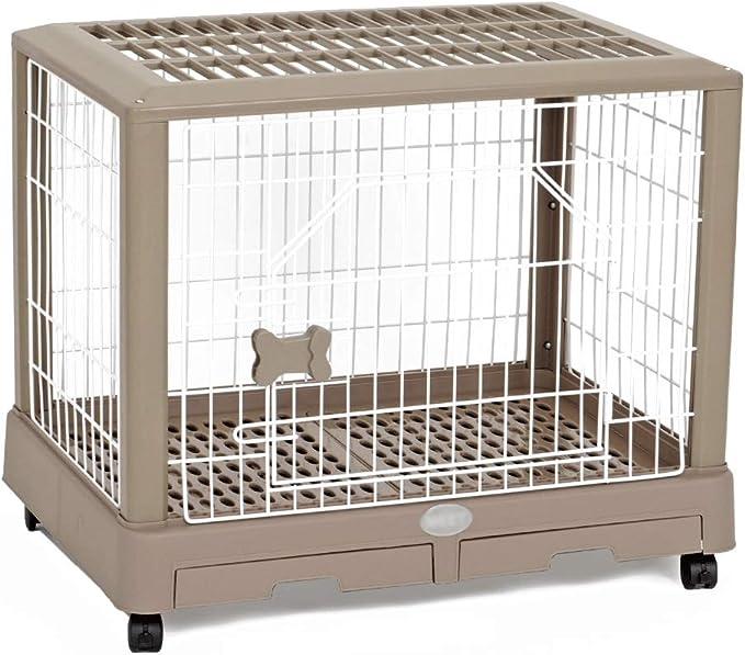 Xiao Long Valla Mascota, Simple Home Interior de la Cerca del Perro casero de la Jaula Jaula del Gato Pequeña y Mediana Cerca del Perro Valla Desmontable for Mascotas jaulas para Perros
