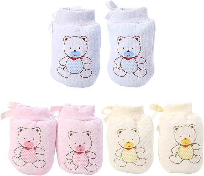 Healifty 7 Paare Baby Kratzhandschuhe Anti Scratch Handschuhe kleinkind Kratzf/äustlinge S/äugling Kratzf/äustel f/ür Jungen M/ädchen