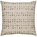 Ashley Furniture Signature Design - Whitehurst Dot Design Thrown Pillow - Contemporary - Cream Taupe