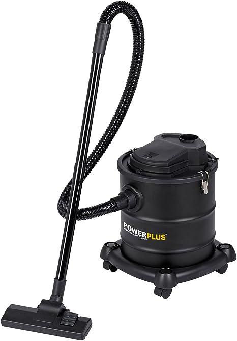POWERPLUS POWX308 - Aspirador cenizas 20l- 1200w con ruedas y ...