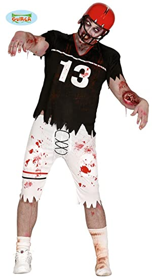 c3b48ccc67e Herren-Kostüm Zombie Quarterback American Football Sportler Halloween Horror