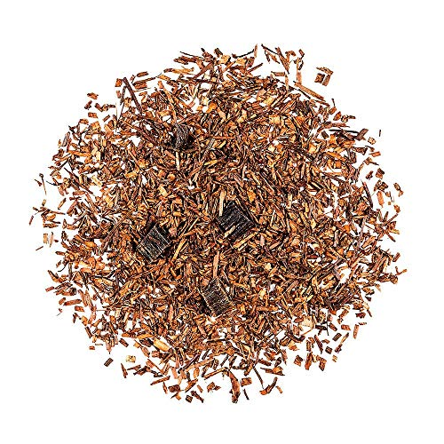 Rooibos Bourbon Vanilla - Organic Red Bush Tea - South African Redbush Loose Leaf 100g 3.5 Ounce by ValleyofTea