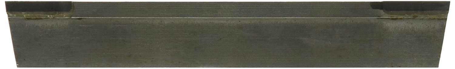 Solid Carbide Tool Micro 100 T-109-V Double EndT Brazed Cut Off Blades with V-Groove 3//4 Height 5 Length 5//32 Width