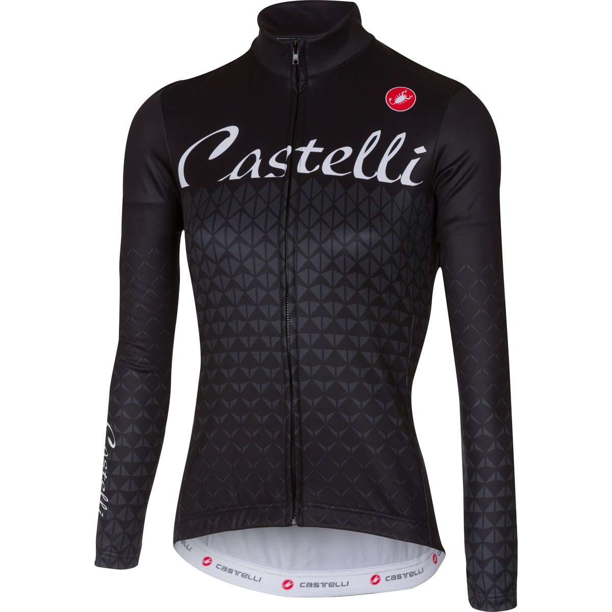 Castelli Women's Ciao Jersey - Anthracite/Light Black