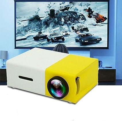 Amazon.com: Pevor Mini Proyector Portable Cine en Casa al ...