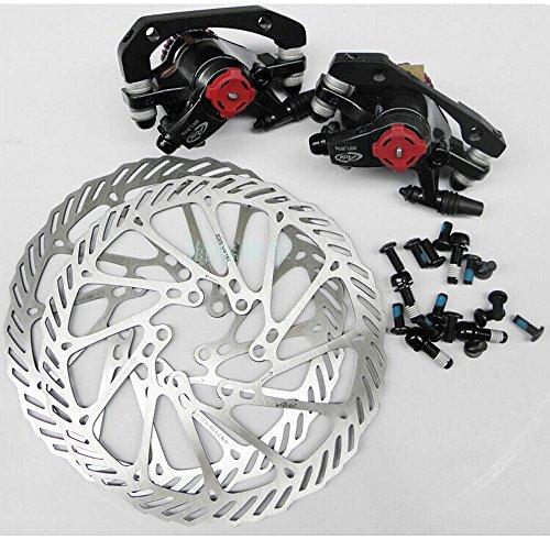 Yosa 100% original AVID BB7+HS1/G3 disc brake sets, 2 BB7 brake clipers+2 HS1 G3 disc rotors+16pcs bolts mtb bicycle