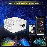 CHINLY Bluetooth Twinkle 10W RGBW APP/Remote LED