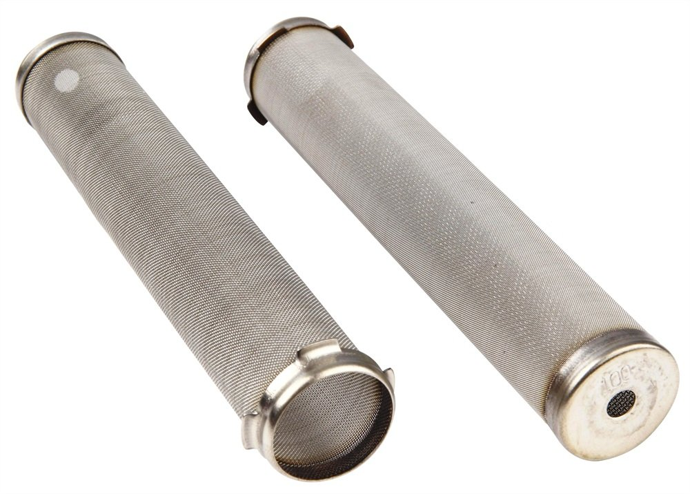 Q-Tech P.1550-150 Manifold Filter Airlessco Pack of 10 Asturo Amspray Graco and Geen Air Pump 150 Mesh 27 mm Diameter x 144 mm Length
