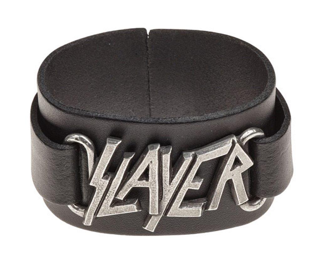 Black Slayer Logo Wristband