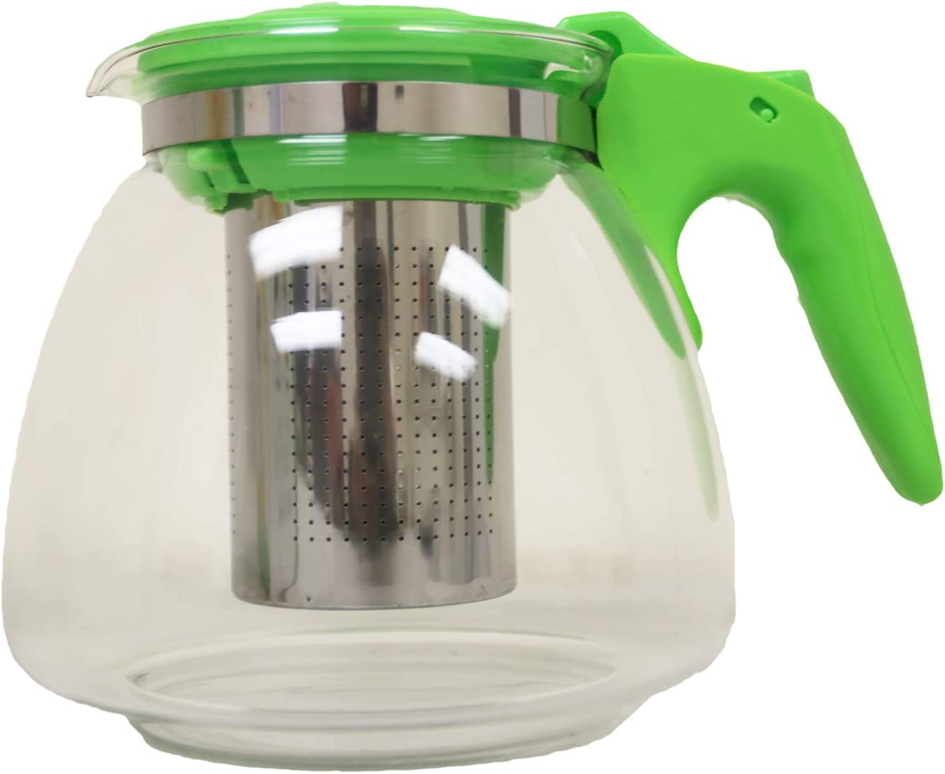 Fine Glass teapot with Removable high Quality S//S Filter Black, 1100