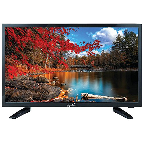 Liquid Image Video (SuperSonic 1080p LED Widescreen HDTV with HDMI Input and AC/DC Compatible for RVs, 22-Inch)