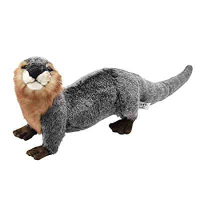 HANSA River Otter Plush: Toys & Games