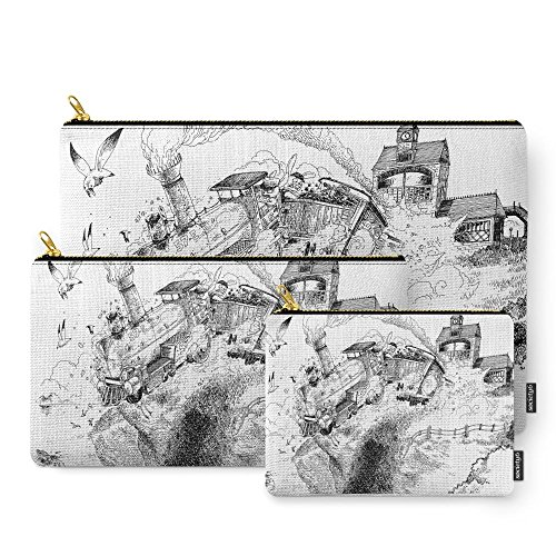 Society6 Au-Delà Du Terminus / Beyond The End Station Carry-All Pouch Set of ()