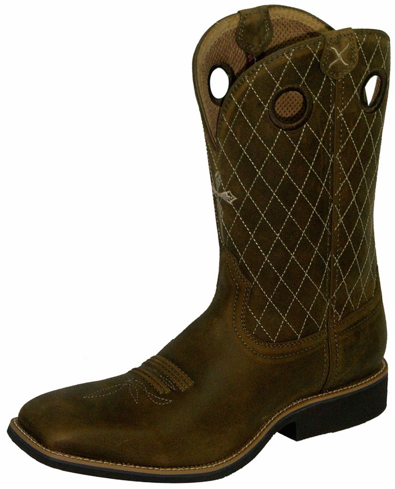 Twisted X Boots Men's MCR0004,Bomber/Bomber Leather,US 11.5 D