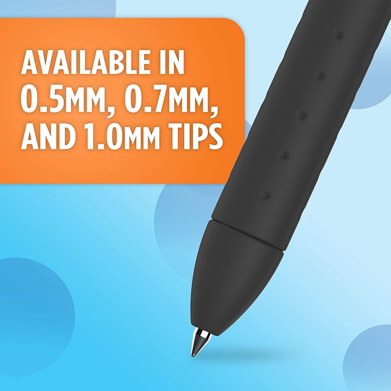 10 Count Black 1951640-1 Medium Point Paper Mate InkJoy Gel Pens