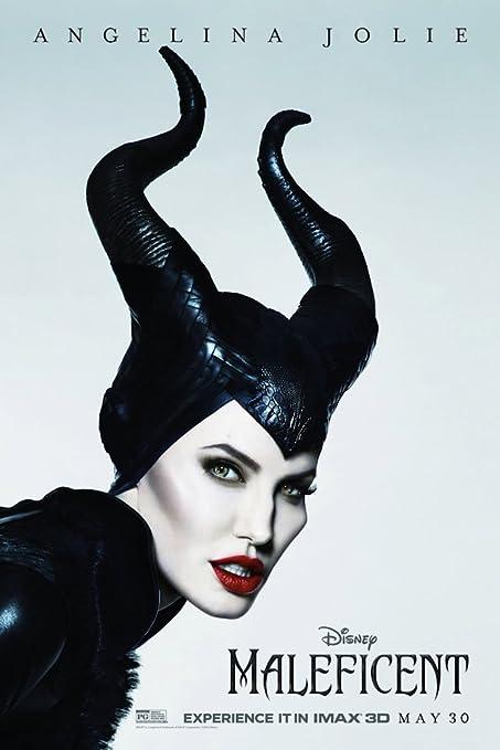 Elle Fanning Maleficent Movie Poster 24x36 - Angelina Jolie 2014