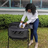 EJWOX Composting Tumbler - Dual Rotating Outdoor