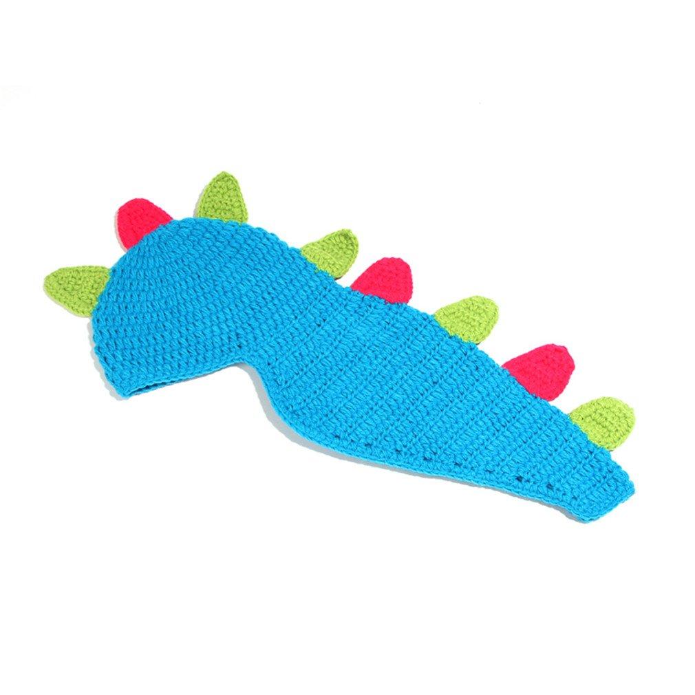 YueLian Baby Boys Girls Knit Beanie Photography Prop Dinosaur Hat Caps