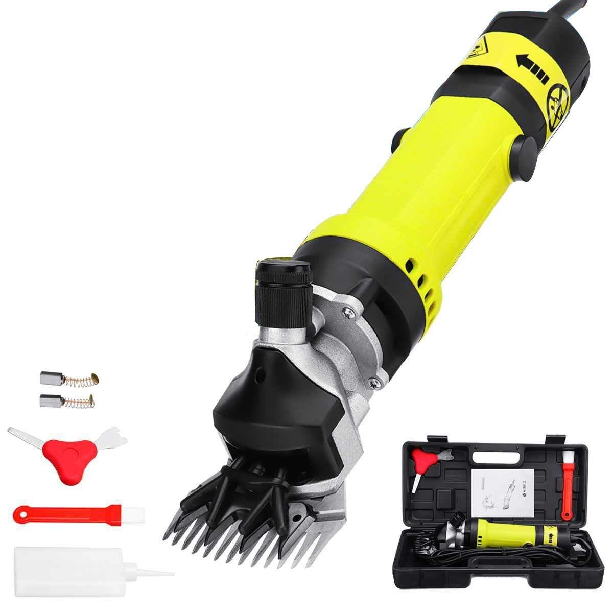 XGG-tool Powerful Electric Sheep Shearing Clippers Shears 320W Animal Grooming Clippers - Goat Shearing Clippers Wireless Trimmer for Goats/Alpaca/Llamas/Angora (13 Straight Teeth Blade) by XGG-tool