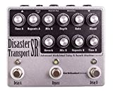 The Disaster Transport SR is a dual delay with modulation and reverb and designed to create an intense wash of lo-fi swirling tape styled echo. While it may look intimidating at first glance, it's actually pretty easy to navigate. The top row of cont...