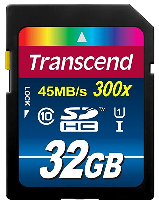 630 opinioni per Transcend Ts32Gsdu1E 32Gb Sdhc Classe 10