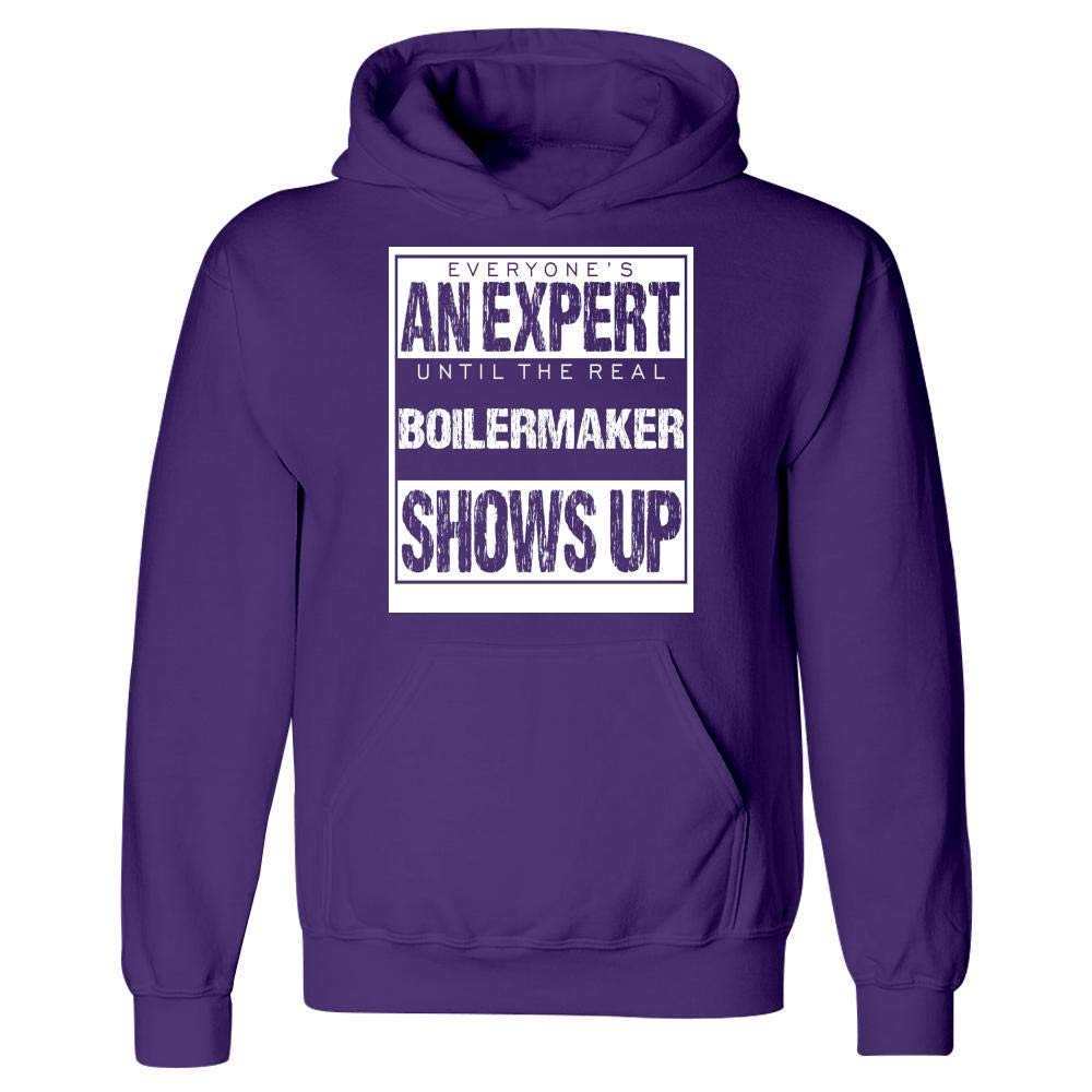 Everyones an Expert Until The Boilermaker Shows Up Hoodie
