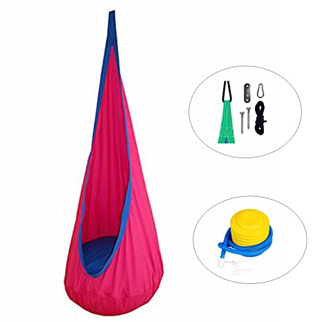 E EVERKING EverKing Child Pod Swing Chair Hanging Chair Nook Tent for Kids Hammock  sc 1 st  Amazon.com & Amazon.com: E EVERKING EverKing Child Pod Swing Chair Hanging Chair ...