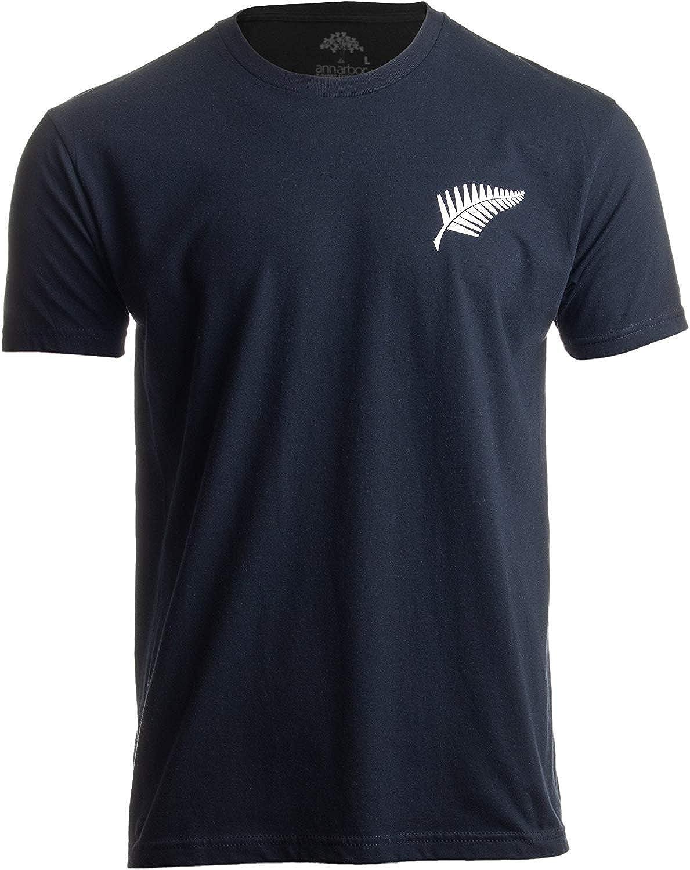 funny cat Orgullo de Nueva Zelanda   Kiwi Silver Fern Southern Cross Hombre Mujer Negro Camiseta, 4XL: Amazon.es: Ropa y accesorios
