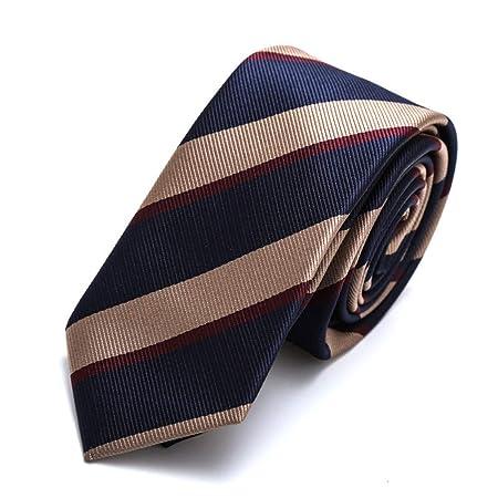 YYB-Tie Corbata Moda Casual Poliéster Textil Hombres Corbatas ...