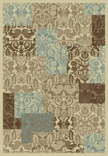 Concord Chester Patchwork Soft 7'10''X10'6'' Rug by Concord Global Trading