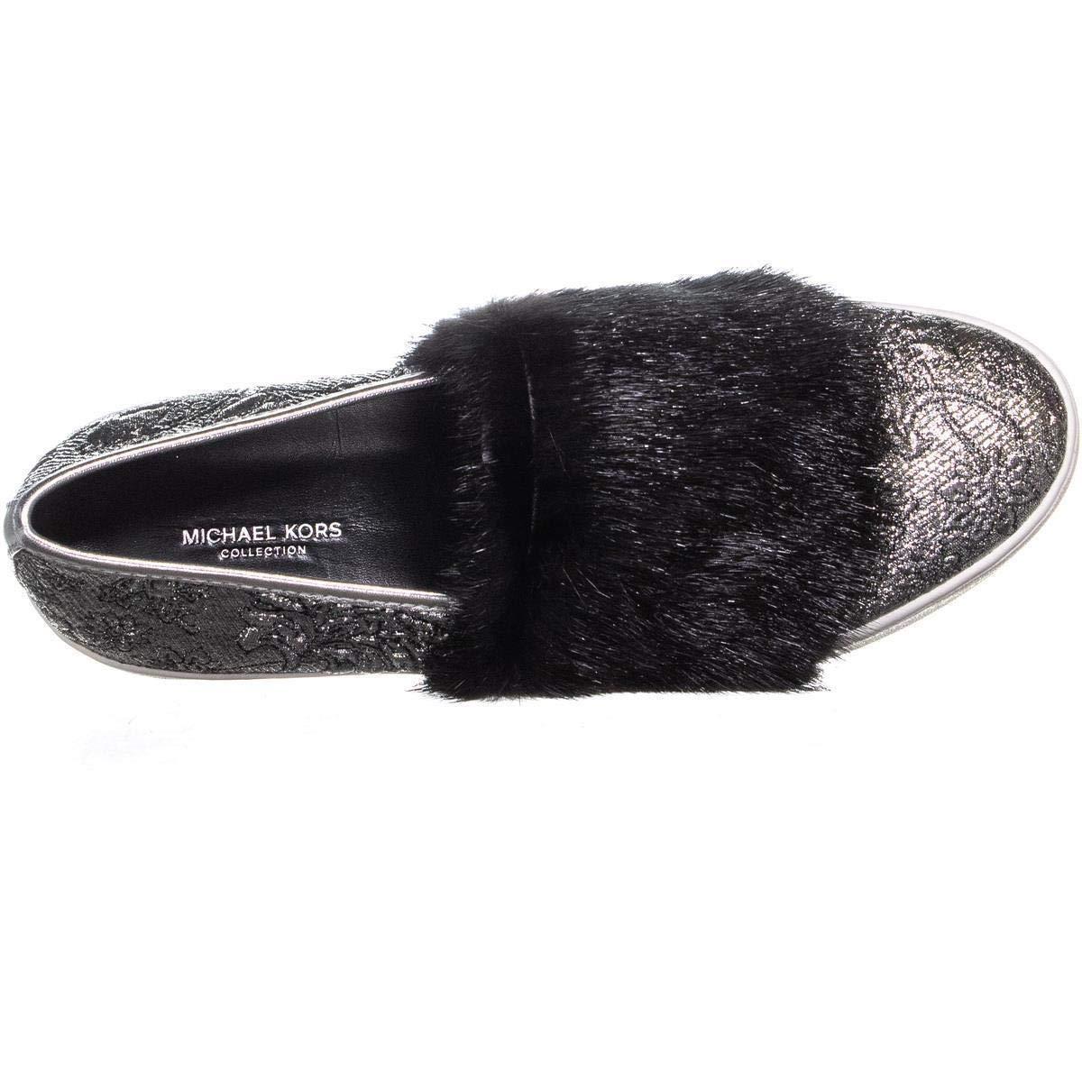 f716f406d7f9e Amazon.com: MICHAEL Michael Kors Lorelai Slip On Sneakers, Brocade ...