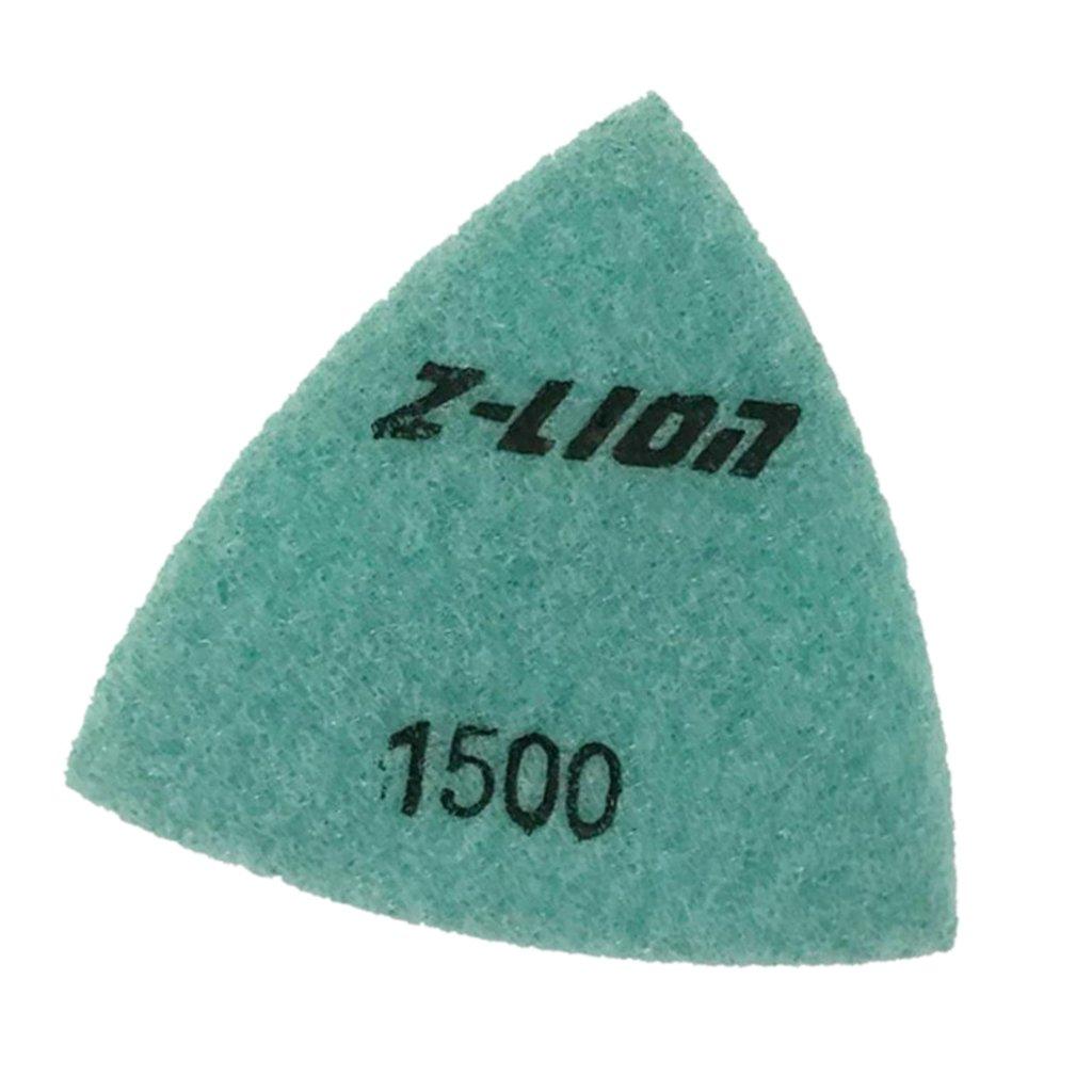 93mm 120# Sharplace Diamant Polieren Stein Schleifstein Hand Schleifpad Dreieck Stil Granit Marmor Stein