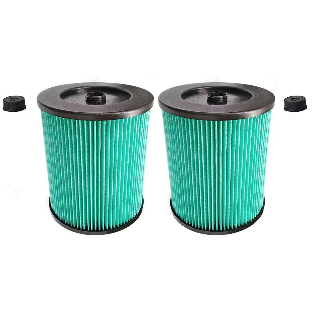 ANBOO for Craftsman 9-17912 & 17912 Wet Dry Vacuum Filter for Craftsman Shop Vac 17912 HEPA Filter Replacement Vacuum Air Filter 2 Packs