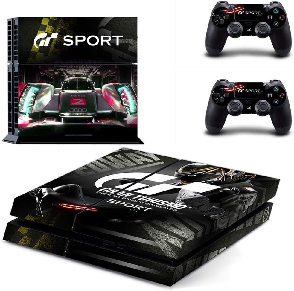 Gran Turismo Sport Gt Sport Ps4 Skin Sticker Decal Vinyl For Sony Playstation 4 Console And 2 Controllers Ps4 Skin Sticker: Amazon.es: Bricolaje y herramientas
