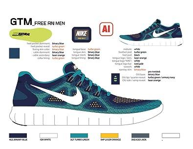 65488a47e3e6d Amazon.com: NIKE Free RN 2017 (GS) Size - 3.5: Shoes