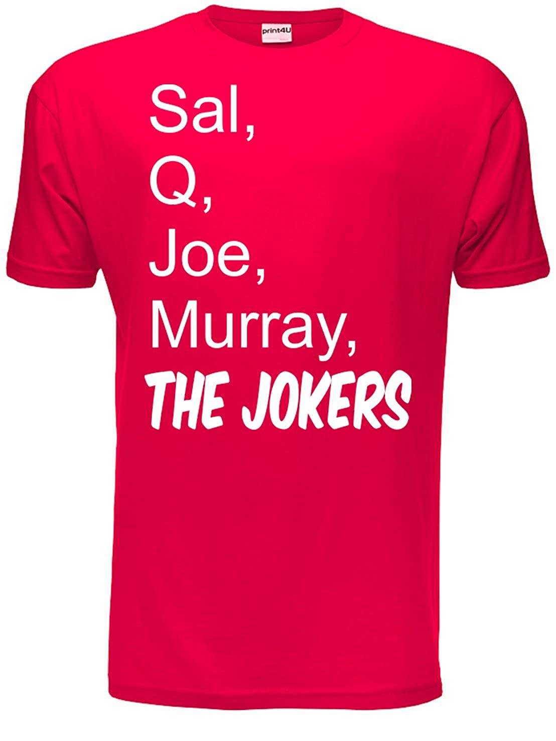 Print4u Impractical Jokers Sal Q Joe & Murray Mens T-shirt Size S-XXL