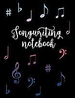 Songwriting Notebook: Lyric Journal: