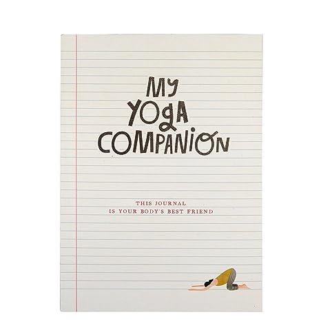 Diario de mi compañero de yoga de autoconocimiento: Amazon ...