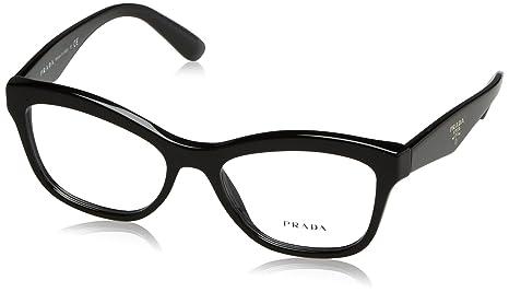 c816e7f76bf1 Image Unavailable. Image not available for. Colour  Prada PR 29RV Glasses  in Black ...