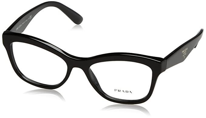 678ab25fcf2 Prada PR29RV Eyeglass Frames 1AB1O1-54 - Black PR29RV-1AB1O1-54 at ...