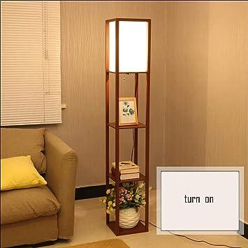 CWJ Lámpara de pie Lámpara de salón Decoración Moderna ...