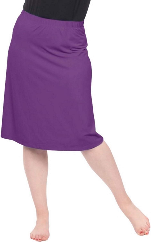 Kosher Casual Womens Modest Running and Sports Skirt