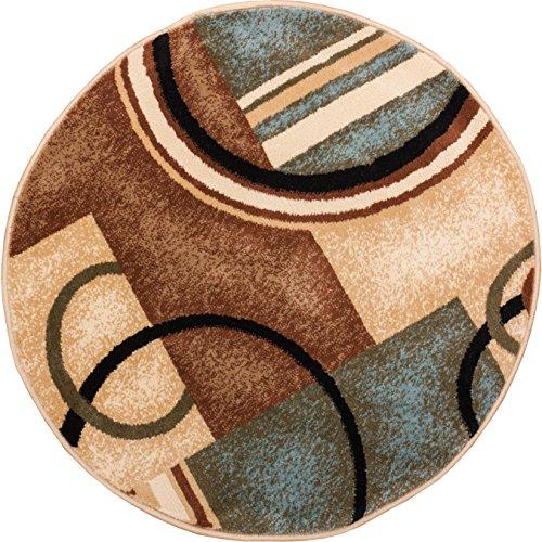 Well Woven 547869 Barclay Arcs & Shapes Modern Rug, 7'10